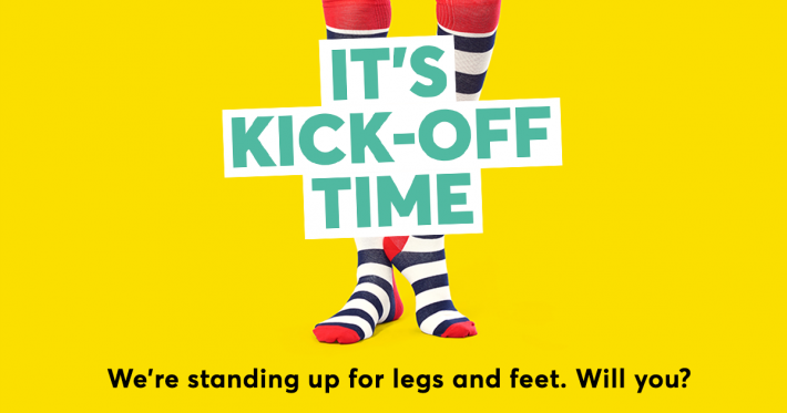 Kick off time - Legs Matter graphic