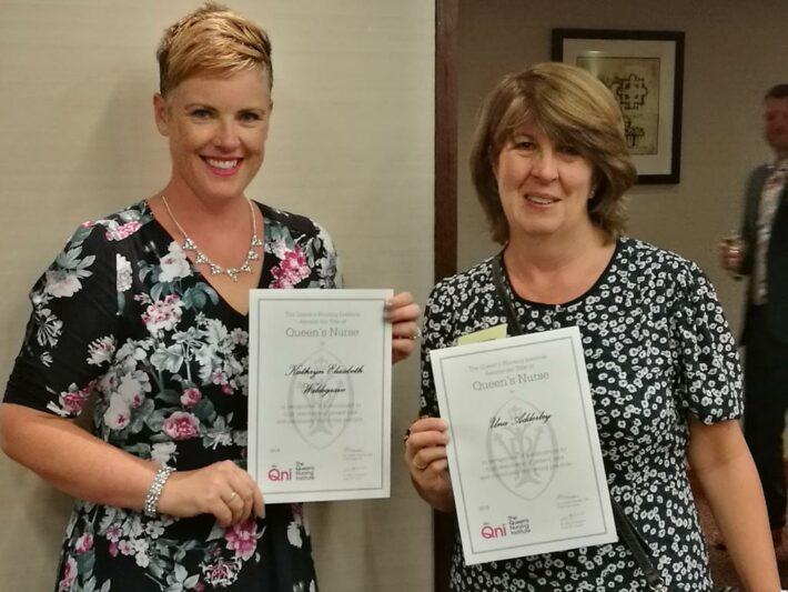 Dr Una Adderley QNI Nurse award