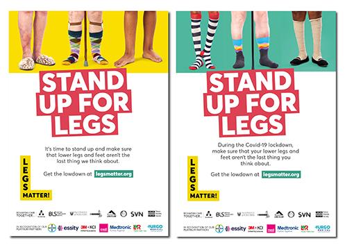 A4 Legs Matter posters