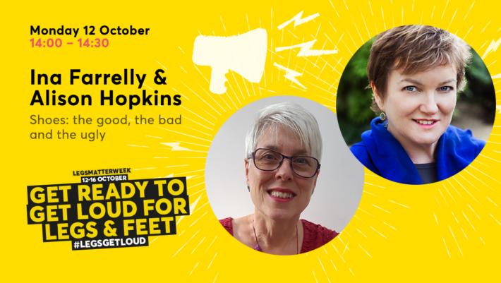 Alison Hopking & Ina Farrelly – Legs Matter week